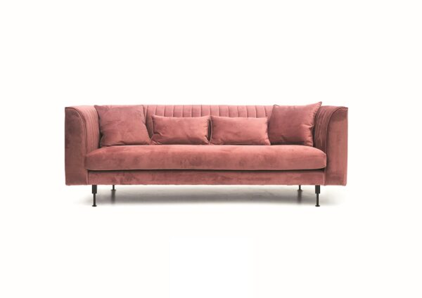 Sofa carmine scaled